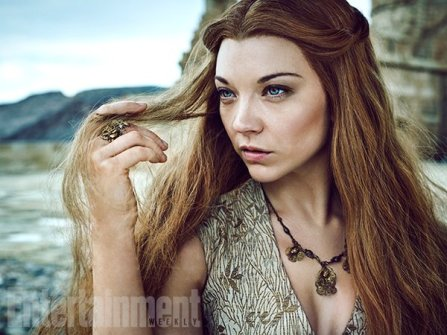 "Natalie Dormer as Margaery Tyrell 'We've seen Margaery in a lot of sticky situations, but she's never been out of her depth before,"" says Dormer. (Image Credit: MARC HOM for EW)"