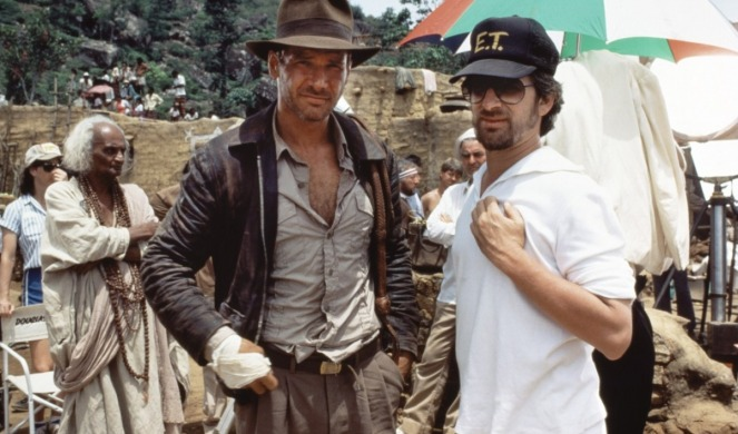 Indiana Jones_Steven Spielberg and Harrison Ford