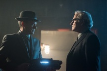"DC's Legends of Tomorrow -- ""Night of the Hawk"" -- Image LGN108a_0205.jpg -- Pictured (L-R): Wentworth Miller as Leonard Snart / Captain Cold and Victor Garber as Professor Martin Stein -- Photo: Dean Buscher/The CW -- © 2016 The CW Network, LLC. All Rights Reserved"