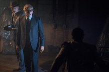 "DC's Legends of Tomorrow -- ""Night of the Hawk"" -- Image LGN108a_0493.jpg -- Pictured (L-R): Wentworth Miller as Leonard Snart / Captain Cold and Victor Garber as Professor Martin Stein -- Photo: Dean Buscher/The CW -- © 2016 The CW Network, LLC. All Rights Reserved"