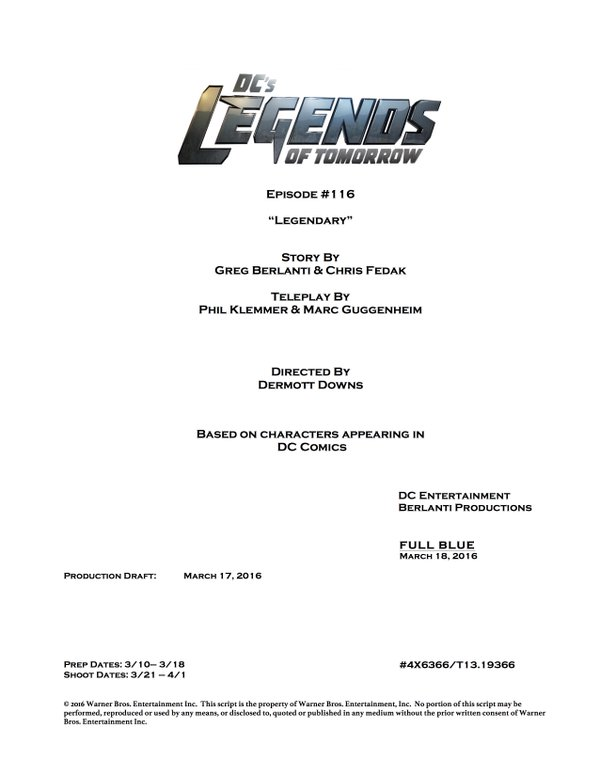 Legends of Tomorrow_S02E16_Title and Credits