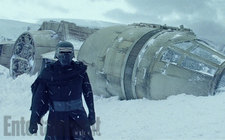 In this deleted scene, Kylo Ren (Adam Driver) leads a squad of stormtroopers to the crash-site of the Millennium Falcon on the surface of Starkiller Base. Inspecting the abandoned starship stirs bittersweet memories for the Dark Side acolyte, who is still battling the pull to the light side ... and now knows his estranged father is conspiring against him.