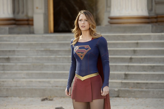 """Manhunter"" -- Kara (Melissa Benoist, pictured) debates trusting someone new with her secret identity and Siobhan (Italia Ricci) plots against Kara, on SUPERGIRL, Monday, March 21 (8:00-9:00 PM, ET/PT) on the CBS Television Network. Photo: Darren Michaels/Warner Bros. Entertainment Inc. © 2016 WBEI. All rights reserved."