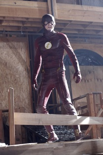 """Worlds Finest"" -- Kara gains a new ally when the lightning-fast superhero The Flash (Grant Gustin, pictured) suddenly appears from an alternate universe and helps Kara battle Siobhan, aka Silver Banshee, and Livewire in exchange for her help in finding a way to return him home, on SUPERGIRL, Monday, March 28 (8:00-9:00 PM, ET/PT) on the CBS Television Network. Photo: Robert Voets/Warner Bros. Entertainment Inc. © 2016 WBEI. All rights reserved."
