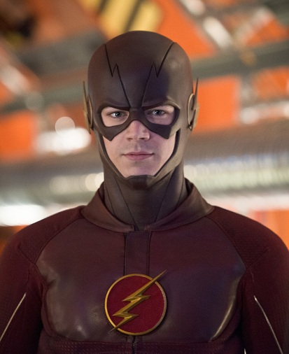 "The Flash -- ""Flash Back"" -- Image: FLA217b_0271b.jpg -- Pictured: Grant Gustin as The Flash -- Photo: Diyah Pera/The CW -- © 2016 The CW Network, LLC. All rights reserved."