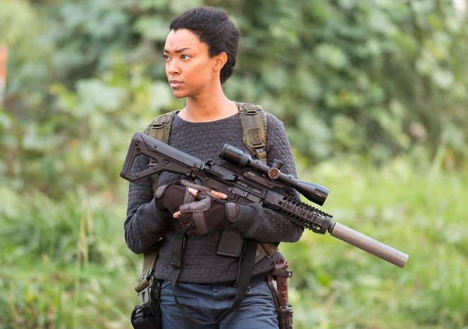 Sasha (Sonequa Martin-Green) in Episode 16 (Photo by Gene Page/AMC)
