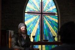Tom Payne as Jesus - The Walking Dead _ Season 6, Episode 12 - Photo Credit: Gene Page/AMC