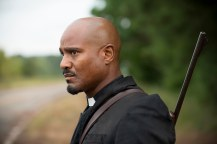 Seth Gilliam as Father Gabriel - The Walking Dead _ Season 6, Episode 12 - Photo Credit: Gene Page/AMC