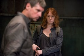 Alicia Witt as Paula and ? - The Walking Dead _ Season 6, Episode 13 - Photo Credit: Gene Page/AMC