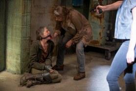 Melissa McBride as Carol Peletier and ? - The Walking Dead _ Season 6, Episode 13 - Photo Credit: Gene Page/AMC