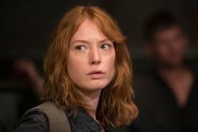 Alicia Witt as Paula - The Walking Dead _ Season 6, Episode 13 - Photo Credit: Gene Page/AMC