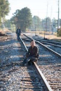 Merritt Wever as Dr. Denise Cloyd and Christian Serratos as Rosita Espinosa - The Walking Dead _ Season 6, Episode 14 - Photo Credit: Gene Page/AMC