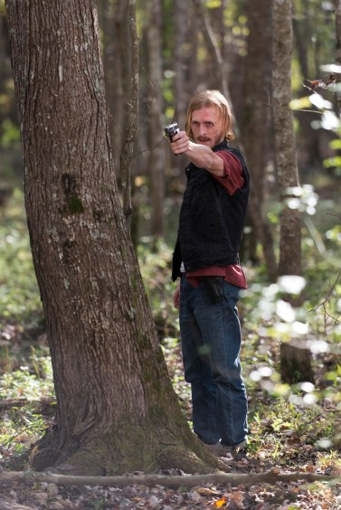 Austin Amelio as Dwight - The Walking Dead _ Season 6, Episode 15 - Photo Credit: Gene Page/AMC