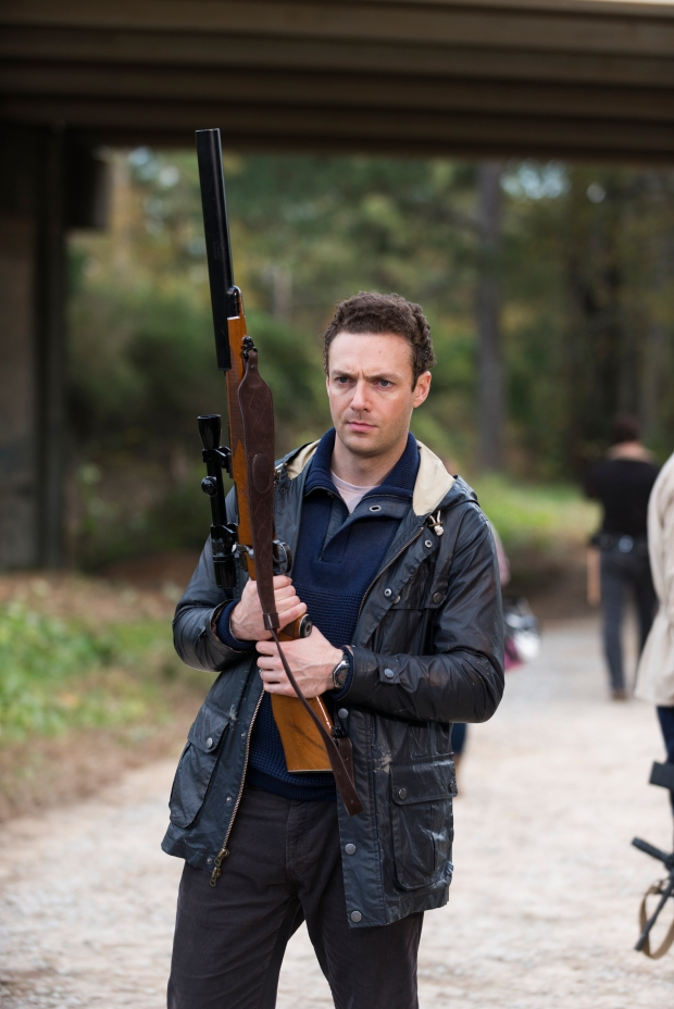 Ross Marquand as Aaron - The Walking Dead _ Season 6, Episode 16 - Photo Credit: Gene Page/AMC