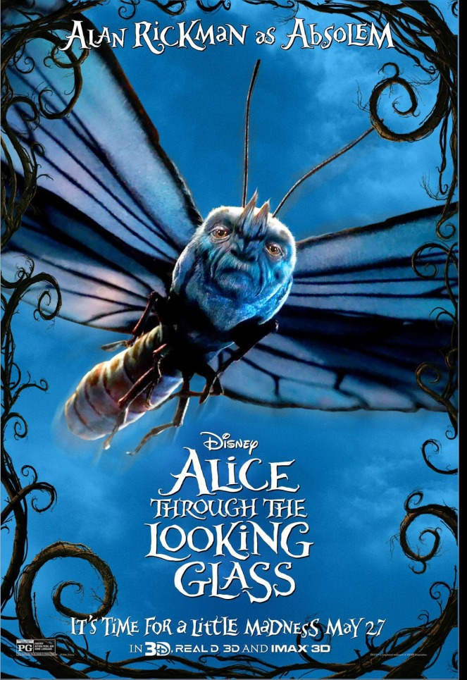 Alice Through the Looking Glass_Character Poster2