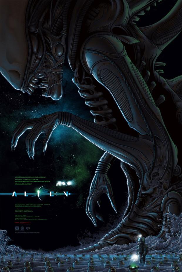 Alien_Regular Variant_by Mike Saputo