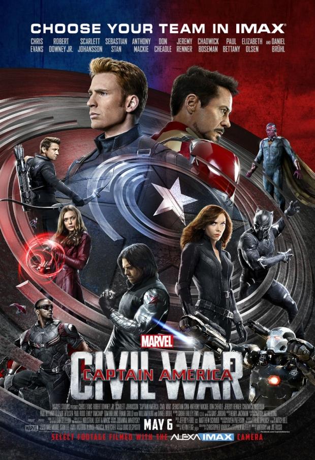 Captain America_Civil War IMAX Poster