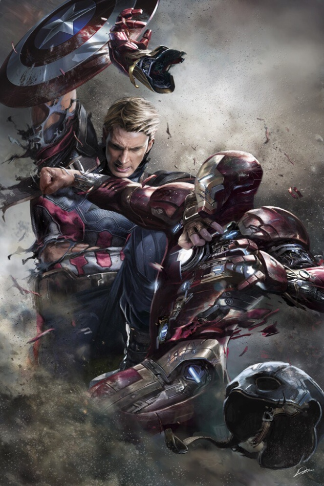 CAPTAIN AMERICA_CIVIL WAR_Concept Art by Alexander Lozano