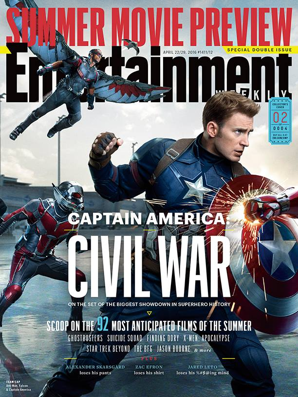 Captain America_Civil War_EW Cover