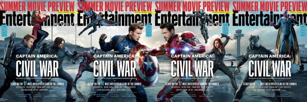 Captain America_Civil War_EW Covers