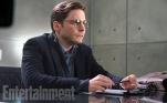 "As Helmut Zemo, Daniel Brühl is a mysterious, manipulative figure who is positioning the heroes against each other. Why? We know, but can't say. It's too much of a spoiler. This character is a significant variation on the cackling, purple-masked Baron Zemo from the Marvel Comics, who led a group that called itself the Masters of Evil. (No mystery about their intentions there.) ""He's still similar to what you know of Zemo, a revenge character,"" Joe Russo says."