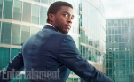 "As T'Challa, the prince of the secretive, technologically advanced African nation of Wakanda, Chadwick Boseman looks like a man in charge no matter which suit he's wearing – civilian or the vibranium-woven uniform of the Black Panther. He's on #TeamIronMan, supporting restrictions on the powerful (even though he's breaking a lot of those rules to get revenge on The Winter Soldier for a crime against his family.) ""He comes into it because, as a world leader, there is a need to make sure there is some sort of control over these superpowers,"" Boseman says. ""It's like if there were nuclear weapons, the world leaders would come together at the U.N. and decide who should have them. It's the same thing with superheroes. He has an interest in making sure this power doesn't go without some restraints and control and some limitations."""