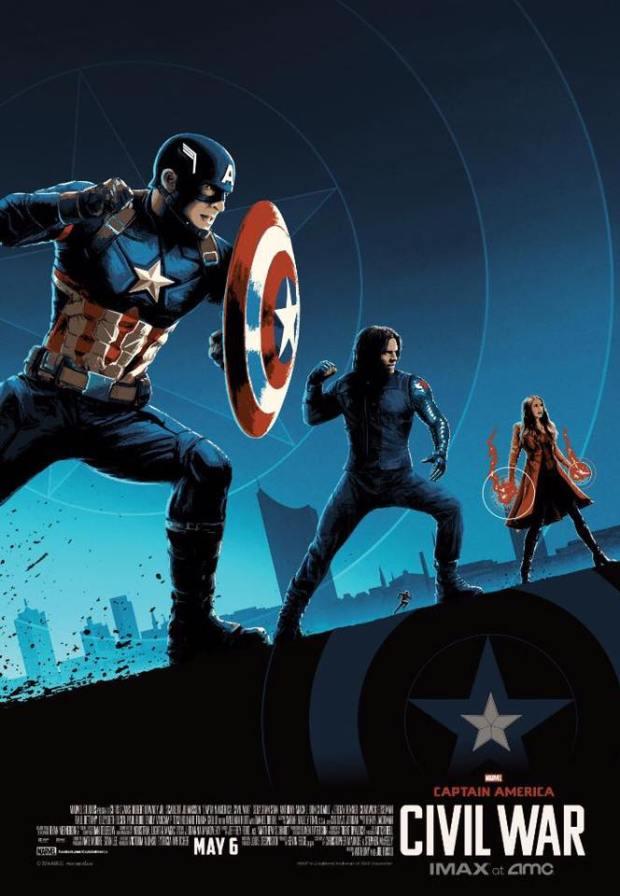 Captain America_Civil War_IMAX Poster_By Matt Ferguson