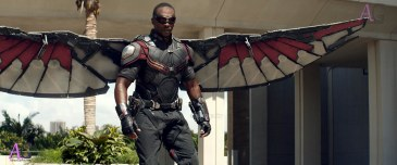 Marvel's Captain America: Civil War Falcon/Sam Wilson (Anthony Mackie) Photo Credit: Film Frame © Marvel 2016