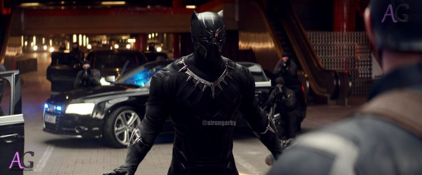 Marvel's Captain America: Civil War Black Panther/T'Challa (Chadwick Boseman) Photo Credit: Film Frame © Marvel 2016