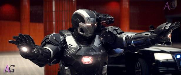 Marvel's Captain America: Civil War War Machine/James Rhodes (Don Cheadle) Photo Credit: Film Frame © Marvel 2016