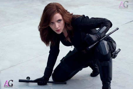 Marvel's Captain America: Civil War Black Widow/Natasha Romanoff (Scarlett Johansson) Photo Credit: Zade Rosenthal © Marvel 2016