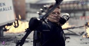 Marvel's Captain America: Civil War Hawkeye/Clint Barton (Jeremy Renner) Photo Credit: Film Frame © Marvel 2016