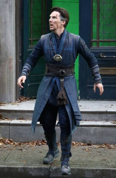 Doctor Strange_NY Set Photo