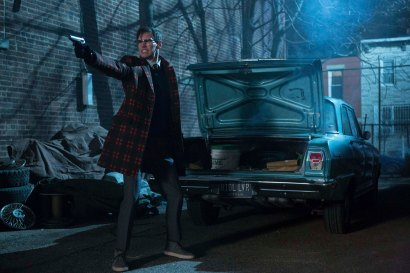 """GOTHAM: Cory Michael Smith in the """"Wrath of the Villains: Into The Woods"""" episode of GOTHAM airing Monday, April, 11 (8:00-9:01 PM ET/PT) on FOX. ©2016 Fox Broadcasting Co. Cr: FOX"""