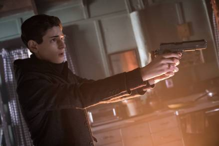 "GOTHAM: David Mazouz in the ""Wrath of the Villains: Pinewood"" episode of GOTHAM airing Monday, April, 18 (8:00-9:01 PM ET/PT) on FOX. ©2016 Fox Broadcasting Co. Cr: Jeff Neumann/FOX"