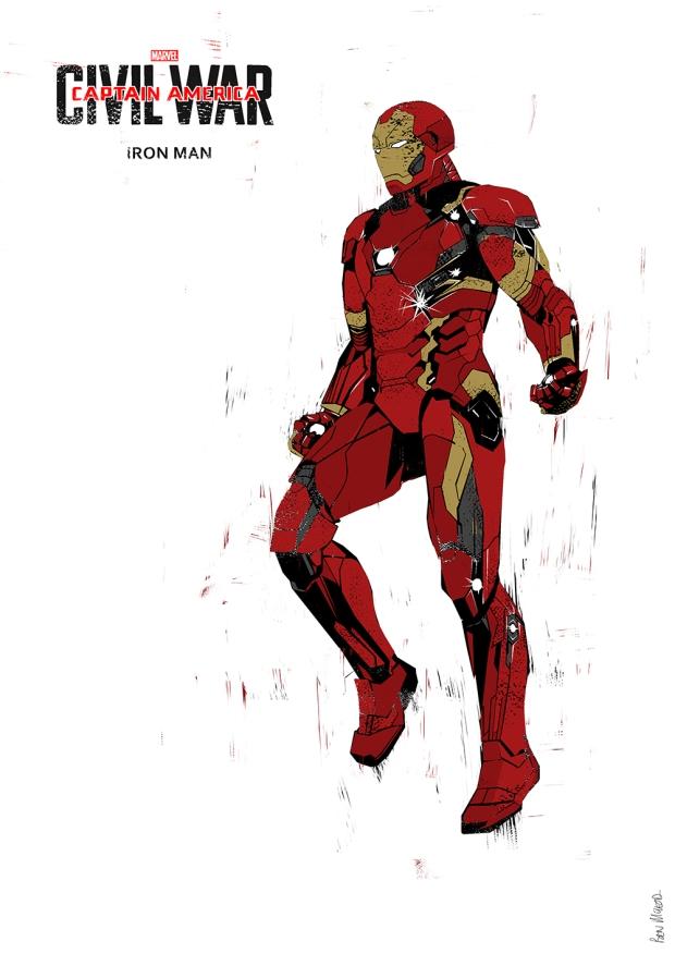 IRON-MAN by Ben Mcleod