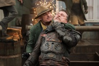 """DC's Legends of Tomorrow -- """"The Magnificent Eight""""-- LGN111a_0260.jpg -- Pictured: Dominic Purcell as Mick Rory/Heat Wave -- Photo: Dean Buscher/The CW -- © 2016 The CW Network, LLC. All Rights Reserved"""