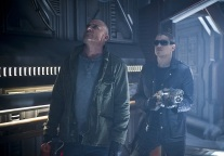 "DC's Legends of Tomorrow --""River of Time""-- Image LGN114b_0229b.jpg -- Pictured (L-R): Dominic Purcell as Mick Rory/Heat Wave and Wentworth Miller as Leonard Snart/Captain Cold -- Photo: Diyah Pera/The CW -- © 2016 The CW Network, LLC. All Rights Reserved."
