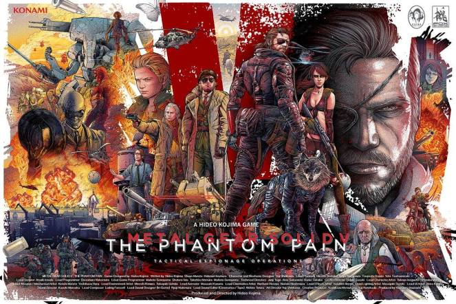 Metal Gear Solid V_The Phantom Pain by Ise Ananphada