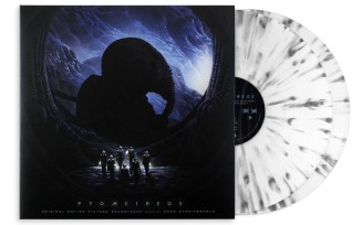 Prometheus - Original Motion Picture Soundtrack 2XLP_Grey Splatter