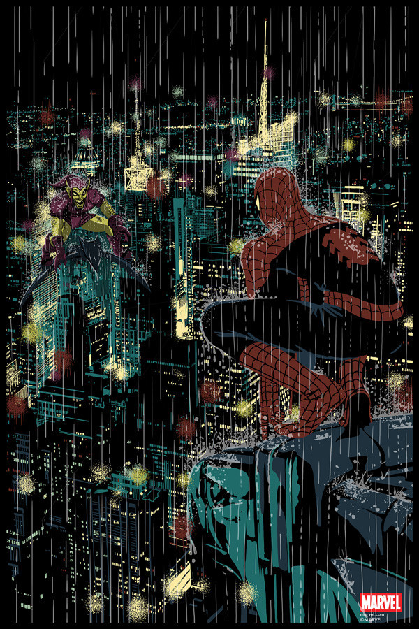 Spider-Man Vs. Green Goblin by Chris Thornley (Raid71)