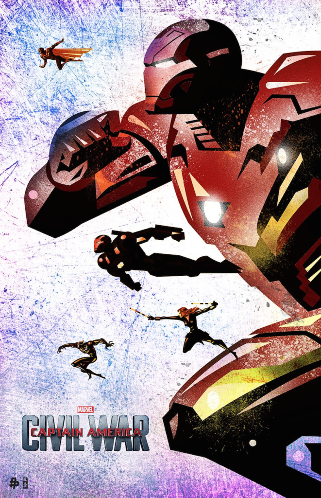 Team Iron Man by Kaz Oomori