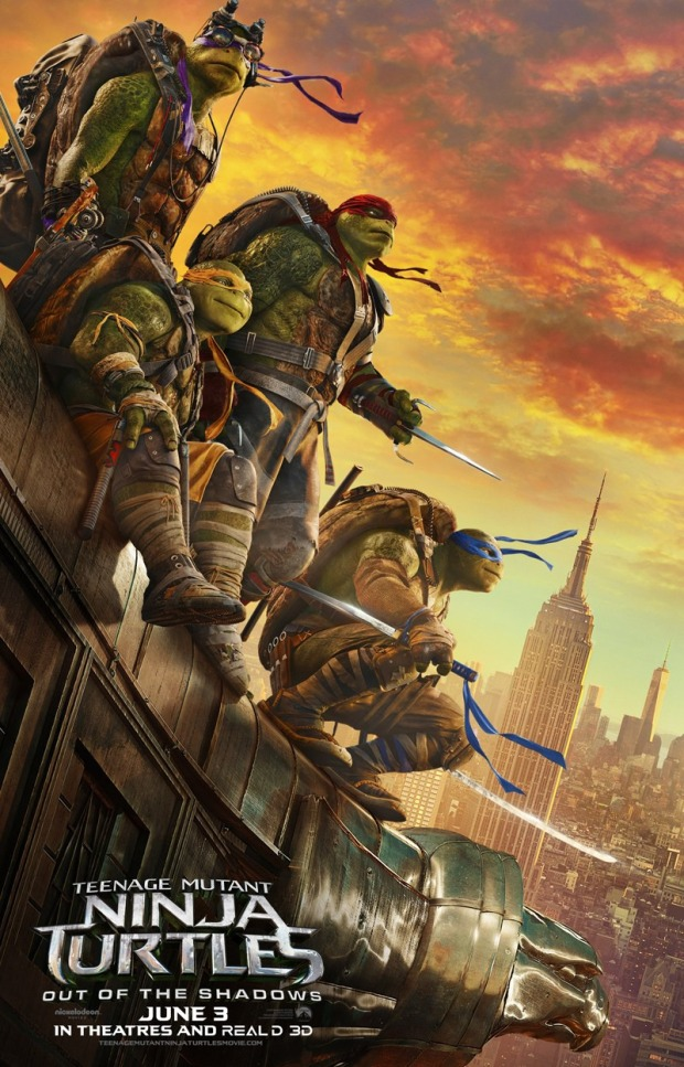 Teenage Mutant Ninja Turtles_Out of the Shadows_Poster