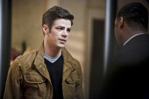 "The Flash -- ""Rupture"" -- Image: FLA220a_0098b.jpg -- Pictured (L-R): Grant Gustin as Barry Allen and Jesse L. Martin as Detective Joe West -- Photo: Bettina Strauss/The CW -- © 2016 The CW Network, LLC. All rights reserved."