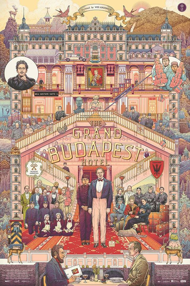 The Grand Budapest Hotel by Ise Ananphada
