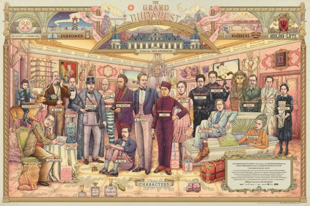 The Grand Budapest Hotel by Ise Ananphada2