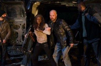 Danai Gurira as Michonne - The Walking Dead _ Season 6, Episode 16 - Photo Credit: Gene Page/AMC