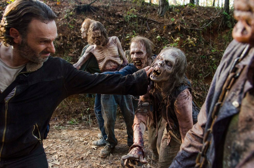Andrew Lincoln as Rick Grimes; Walkers - The Walking Dead _ Season 6, Episode 16 - Photo Credit: Gene Page/AMC