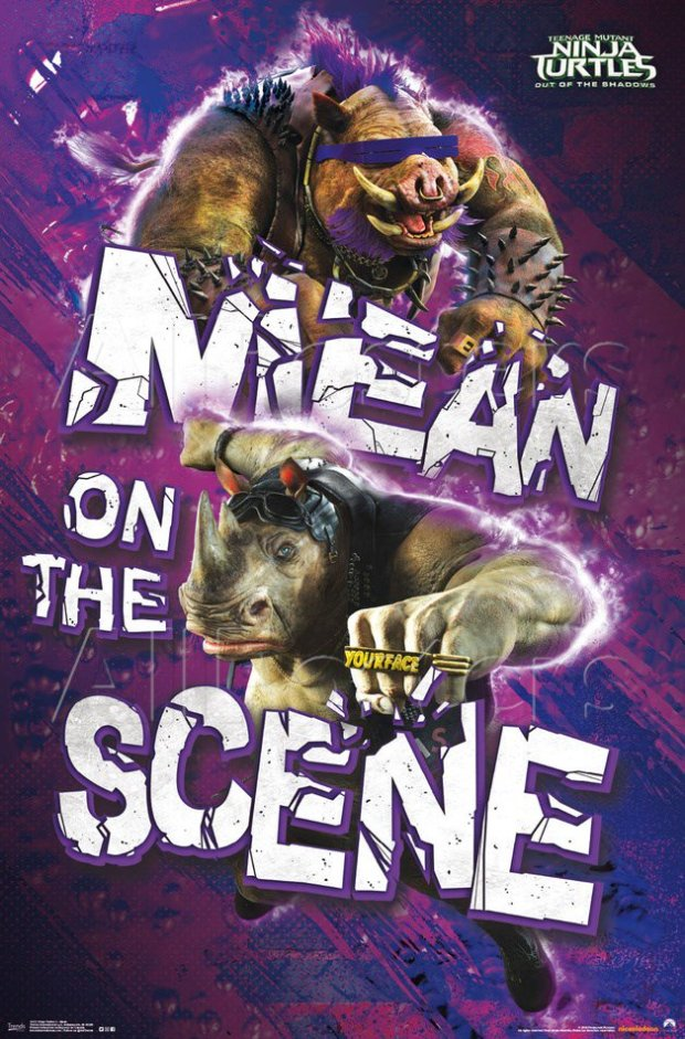 TMNT2_Bebop and Rocksteady_Poster