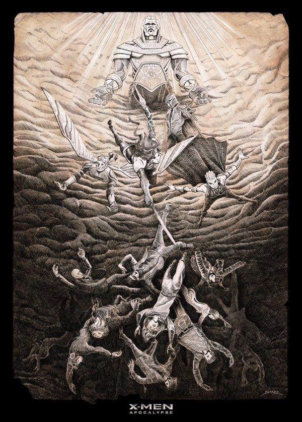 X-Men_Apocalypse_By Xavier Drago